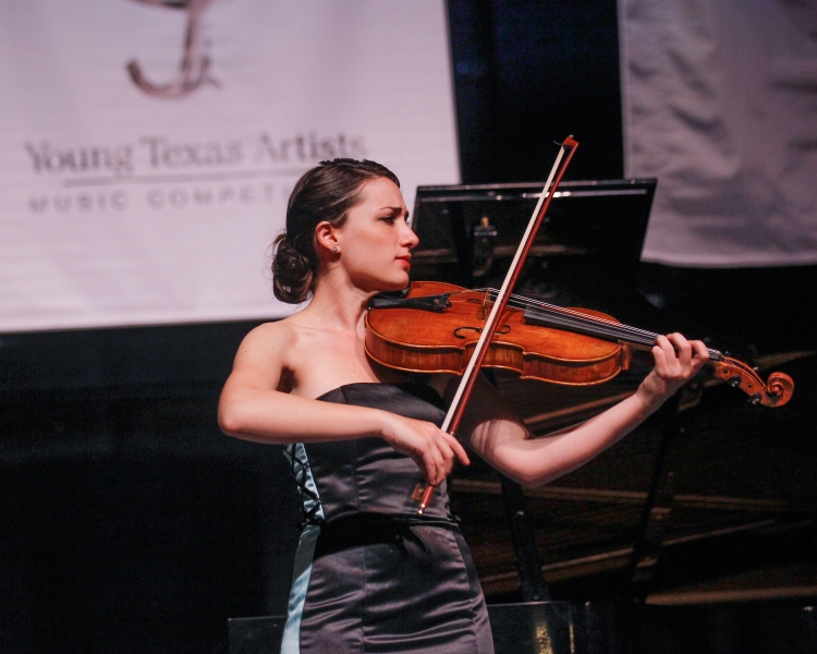 Young Texas Artists Music Competition Contestant