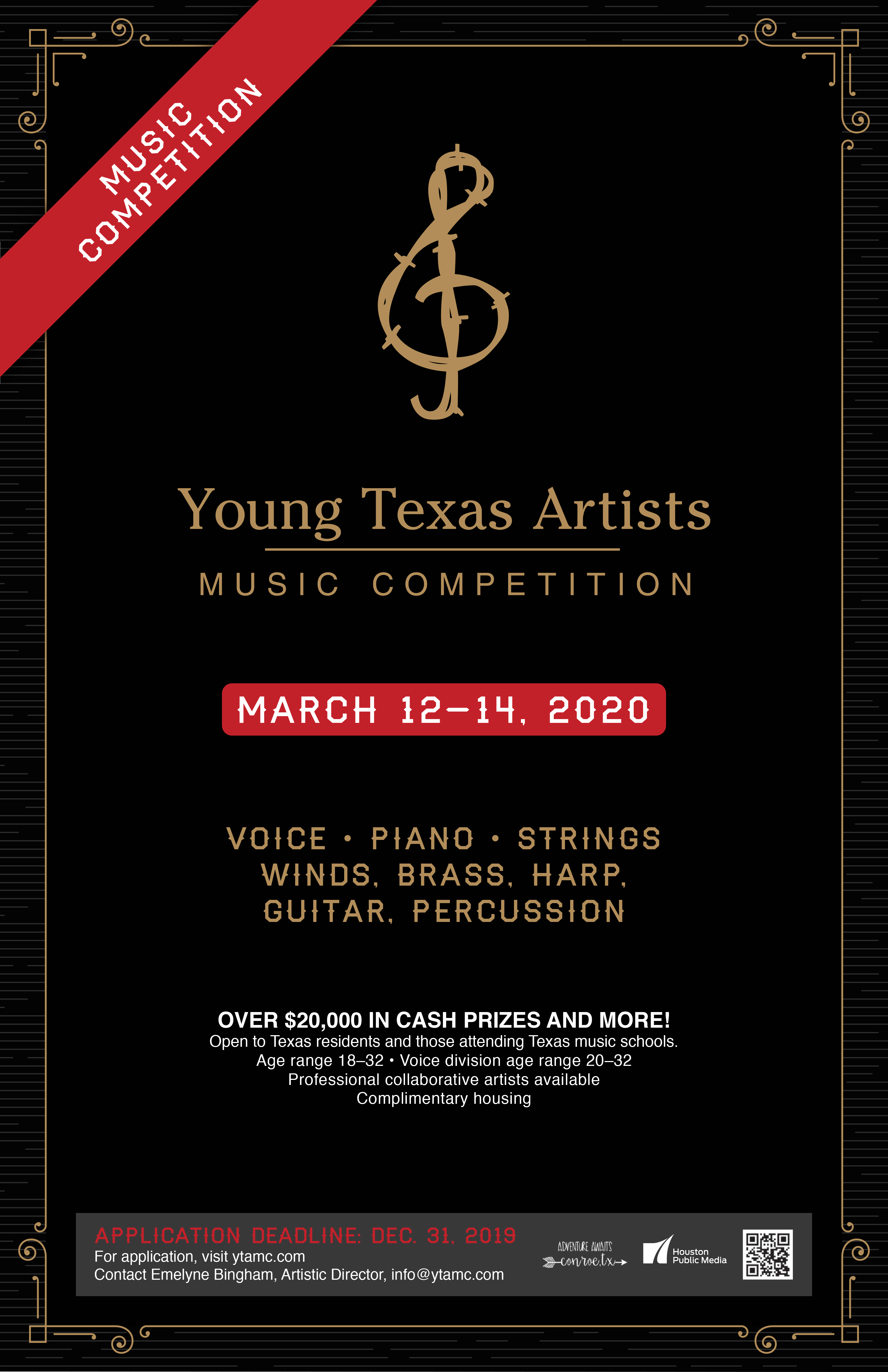 Young Texas Artists Music Competition